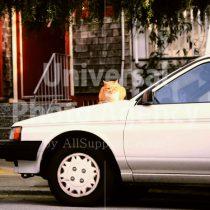 アメリカ サンフランシスコ 車の上のねこ / sfcat01-171